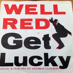WELL RED - GET LUCKY (VIRGIN) Mint Copy