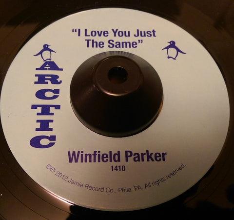 WINFIELD PARKER - I LOVE YOU JUST THE SAME (ARCTIC) Mint Condition