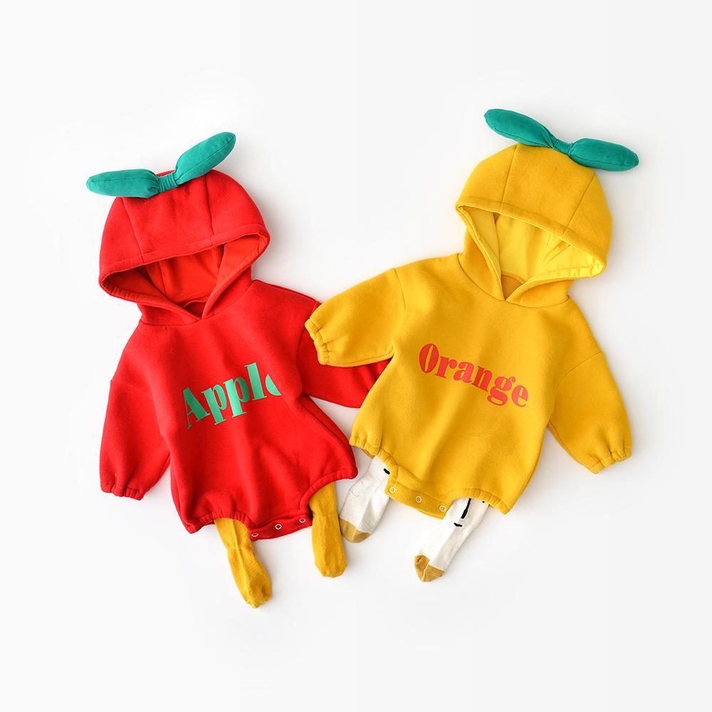 cartoon apple cute jumpsuit 2 colors