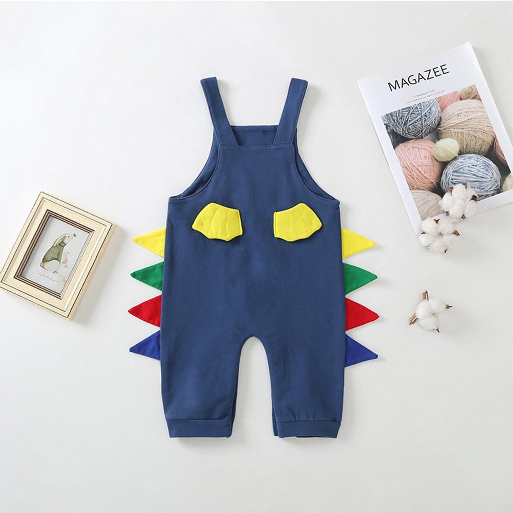 Newborn Toddler Infant Baby Girls Boys Cartoon Bodysuit Jumpsuit Clothes Outfits
