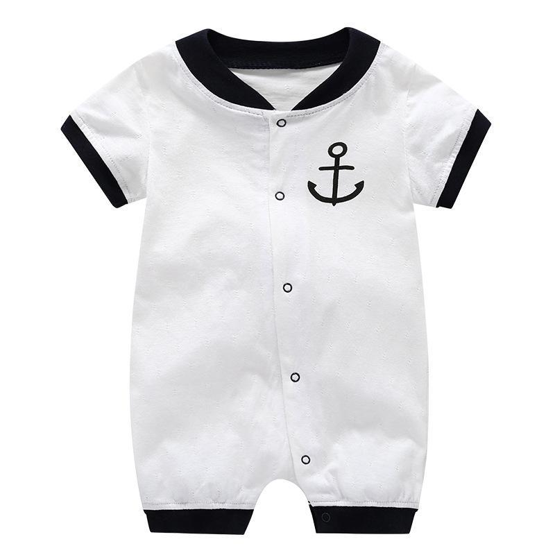 Baby Casual Cotton Short Sleeve Clothes Romper Jumpsuit