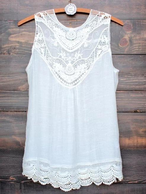 Fashion Sleeveless Chiffon T-shirts Tops S - XXXXXL