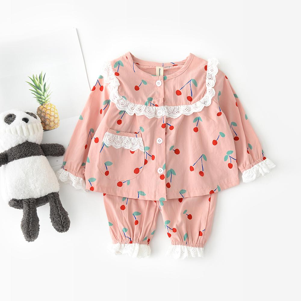 Cartoon printed Baby Bodysuit Carrot cherry