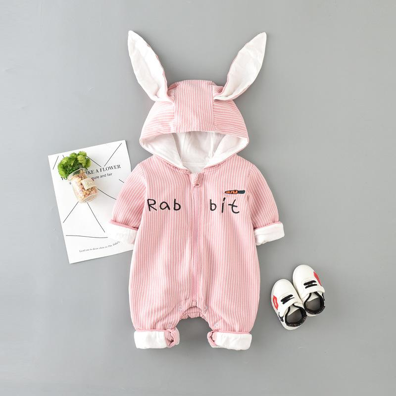 Autumn Baby Long-sleeved Jumpsuit Girls Baby Clothes Fashion kids  Jumpsuit Outfits