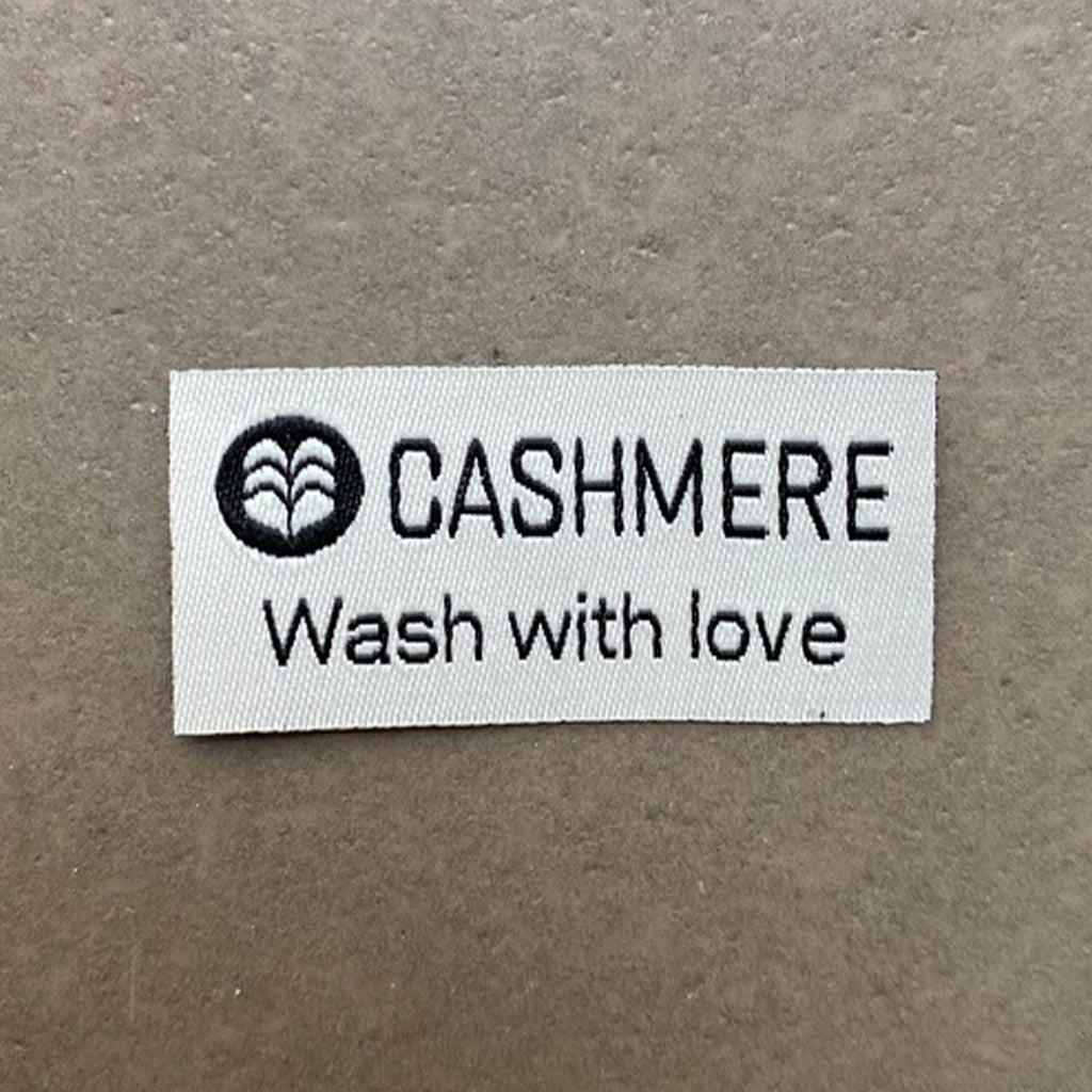 Tekstil mærke - Cashmere wash with love