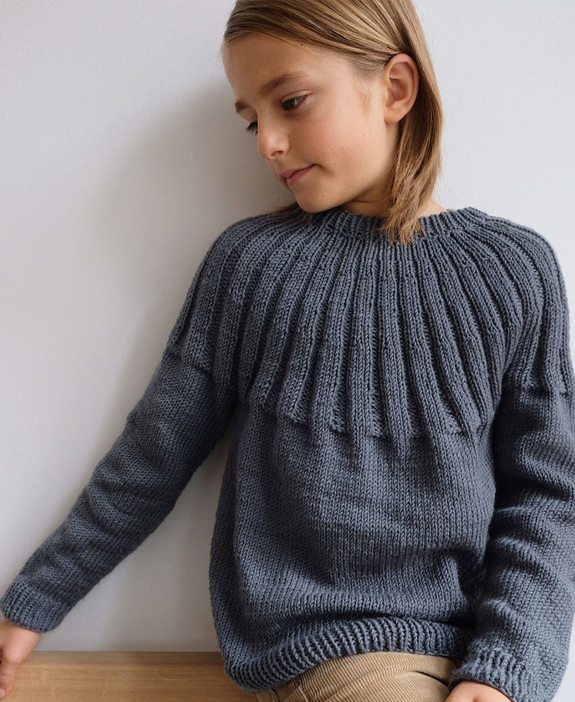 Haralds Sweater Junior PetiteKnit - Strikkekit