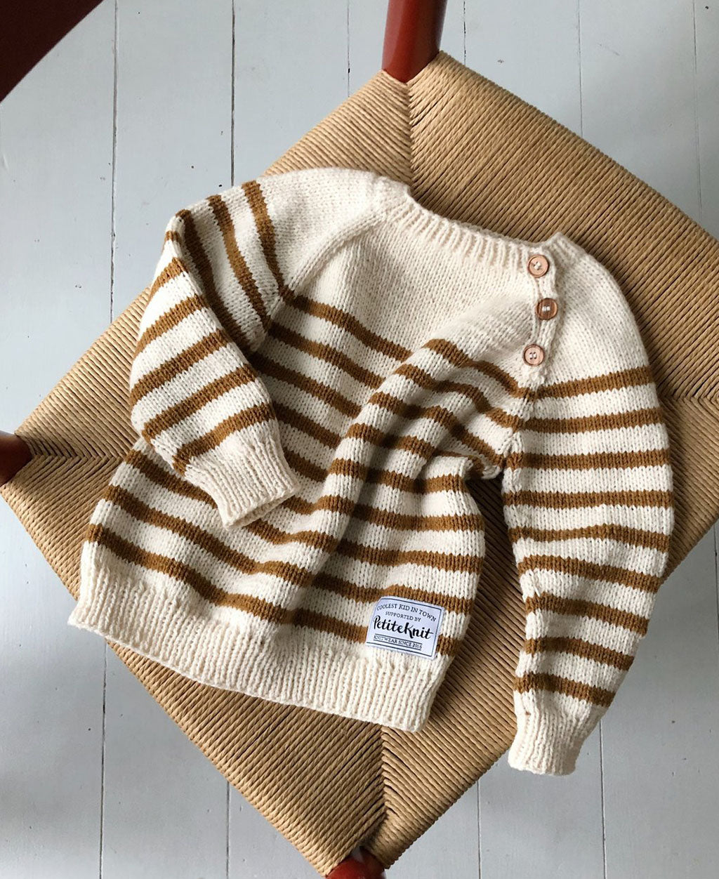 Seaside Sweater PetiteKnit - Strikkekit