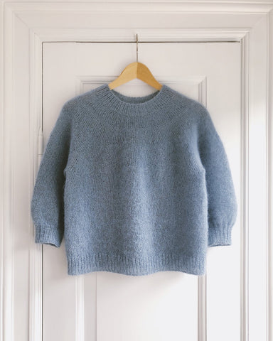 Novice Sweater - Mohair Edition PetiteKnit - Garnkit