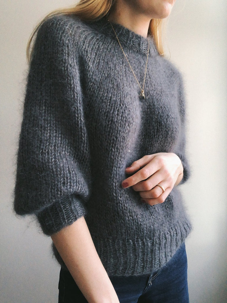 Saturday Night Sweater PetiteKnit - Garnkit Cashmeresilke