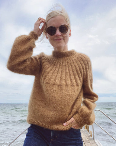 Sunday Sweater - Mohair Edition PetiteKnit - Garnkit
