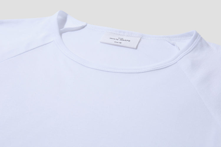ANCHOVY 3/4 SLEEVED White