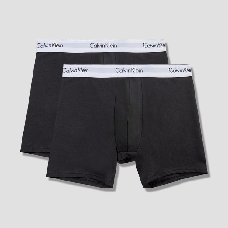 2 PACK BOXER BRIEF NB1087A Black
