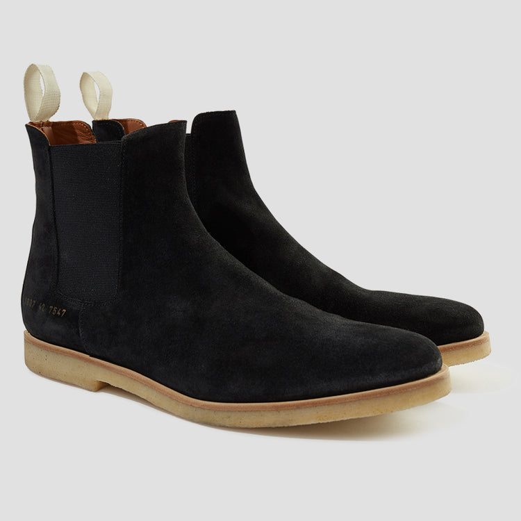 CHELSEA BOOT IN SUEDE 1897 3000 Black