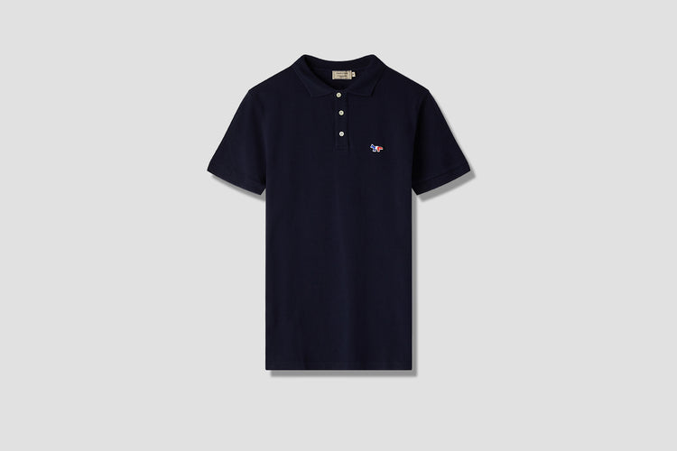 TRICOLOR FOX PATCH POLO AM00200KJ7002 Navy