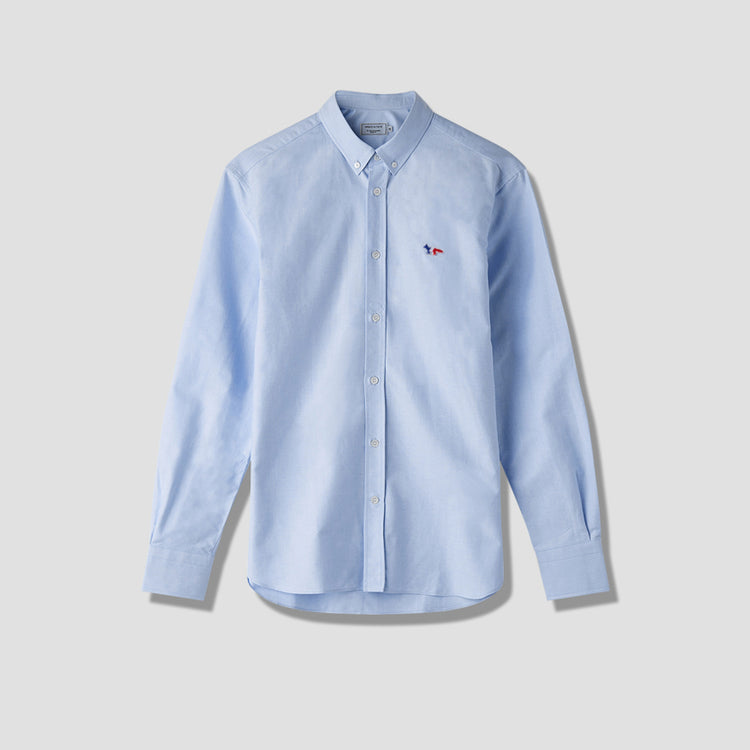 TRICOLOR FOX PATCH CLASSIC SHIRT BD FM00400WC2010 Light blue
