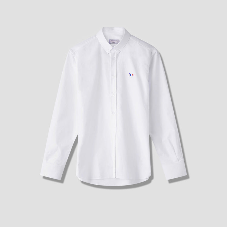 TRICOLOR FOX PATCH CLASSIC SHIRT BD FM00400WC2010 White