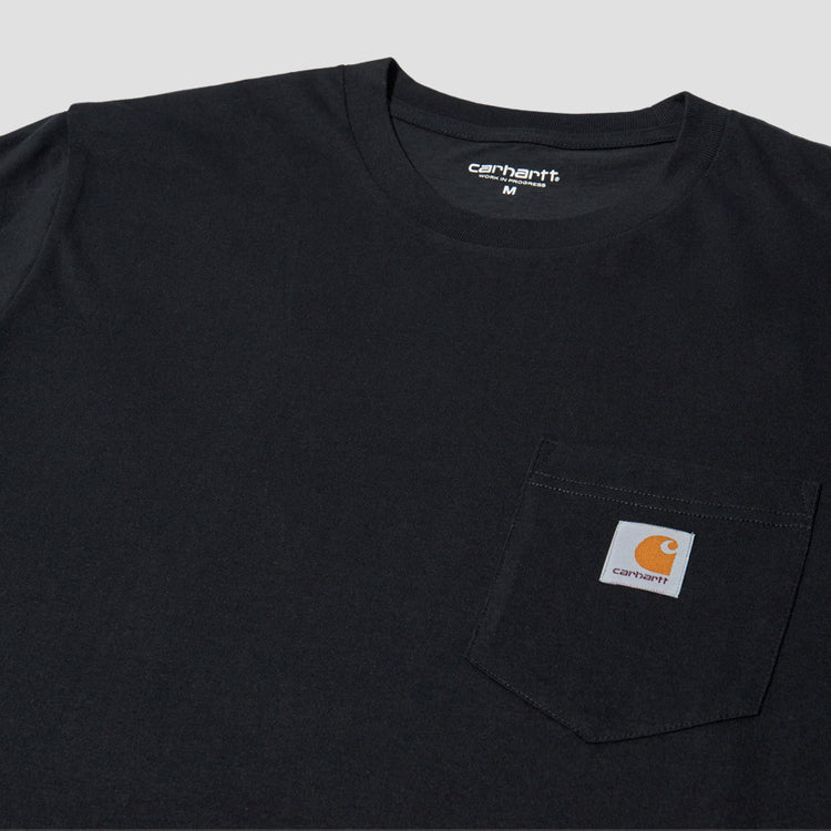 S/S POCKET T-SHIRT I022091 Black