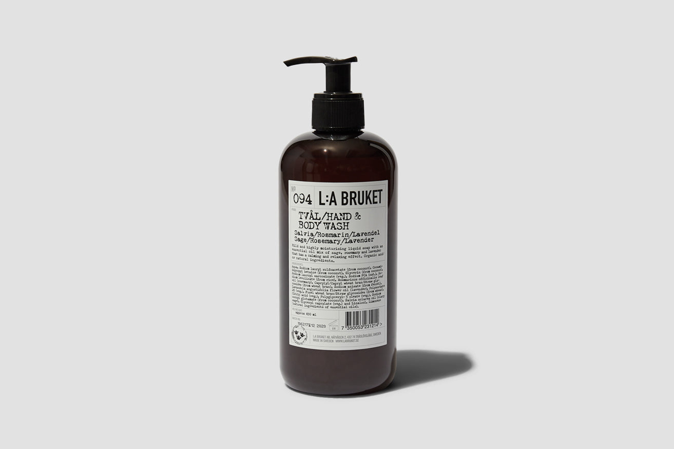 094 HAND & BODY WASH SAGE/ROSEMARY/LAVENDER 450 ML. 10164