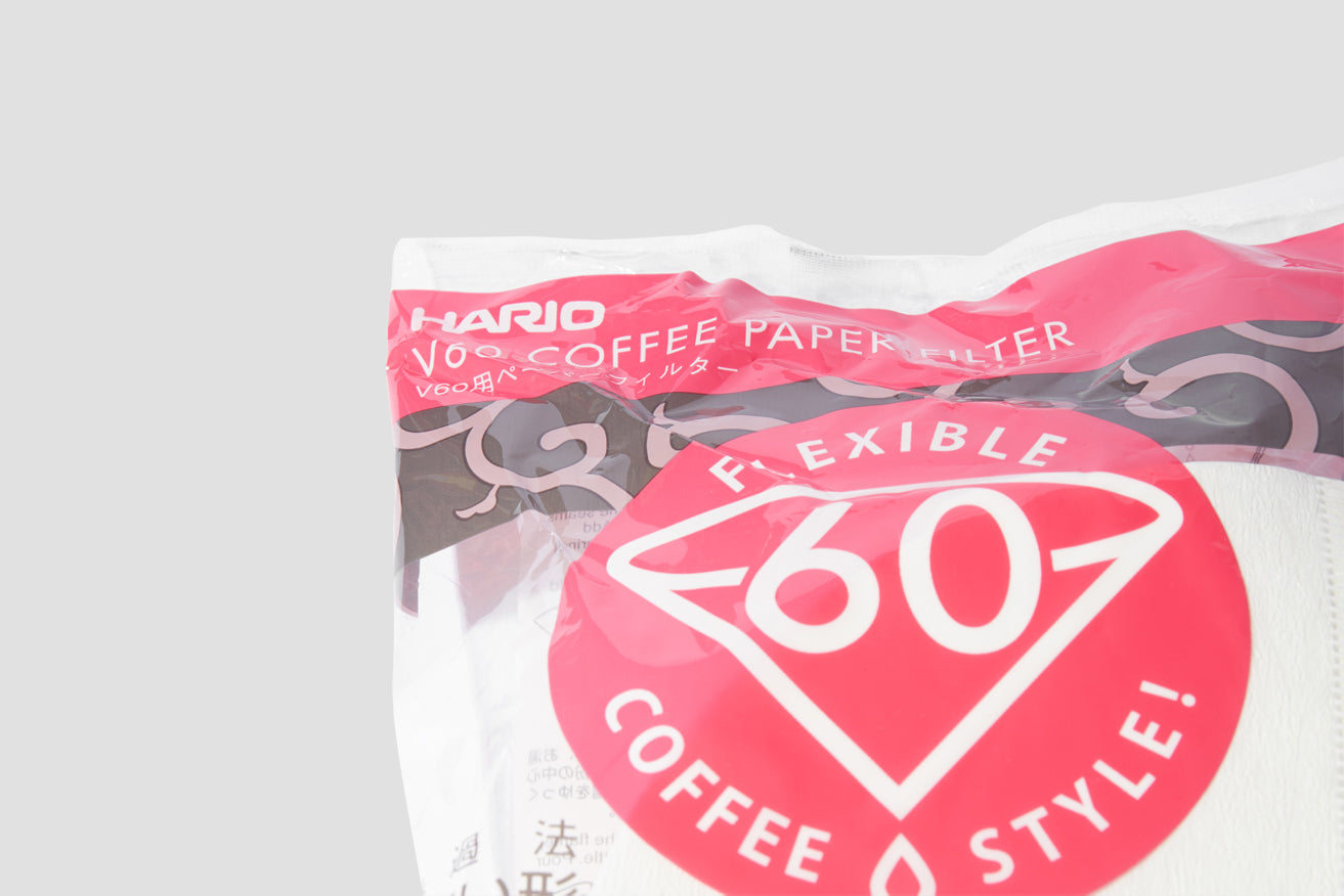 01 V60 COFFEE PAPER FILTER 100 PCS. 250101