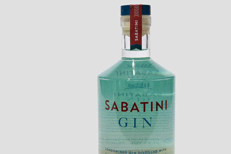 LONDON DRY GIN DISTILLED WITH HOMEGROWN TUSCAN BOTANICALS 41,3 700 ML.