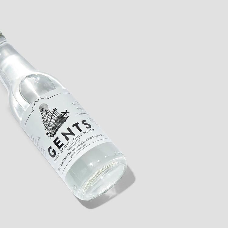 GENTS SWISS ROOTS TONIC WATER 200 ML.