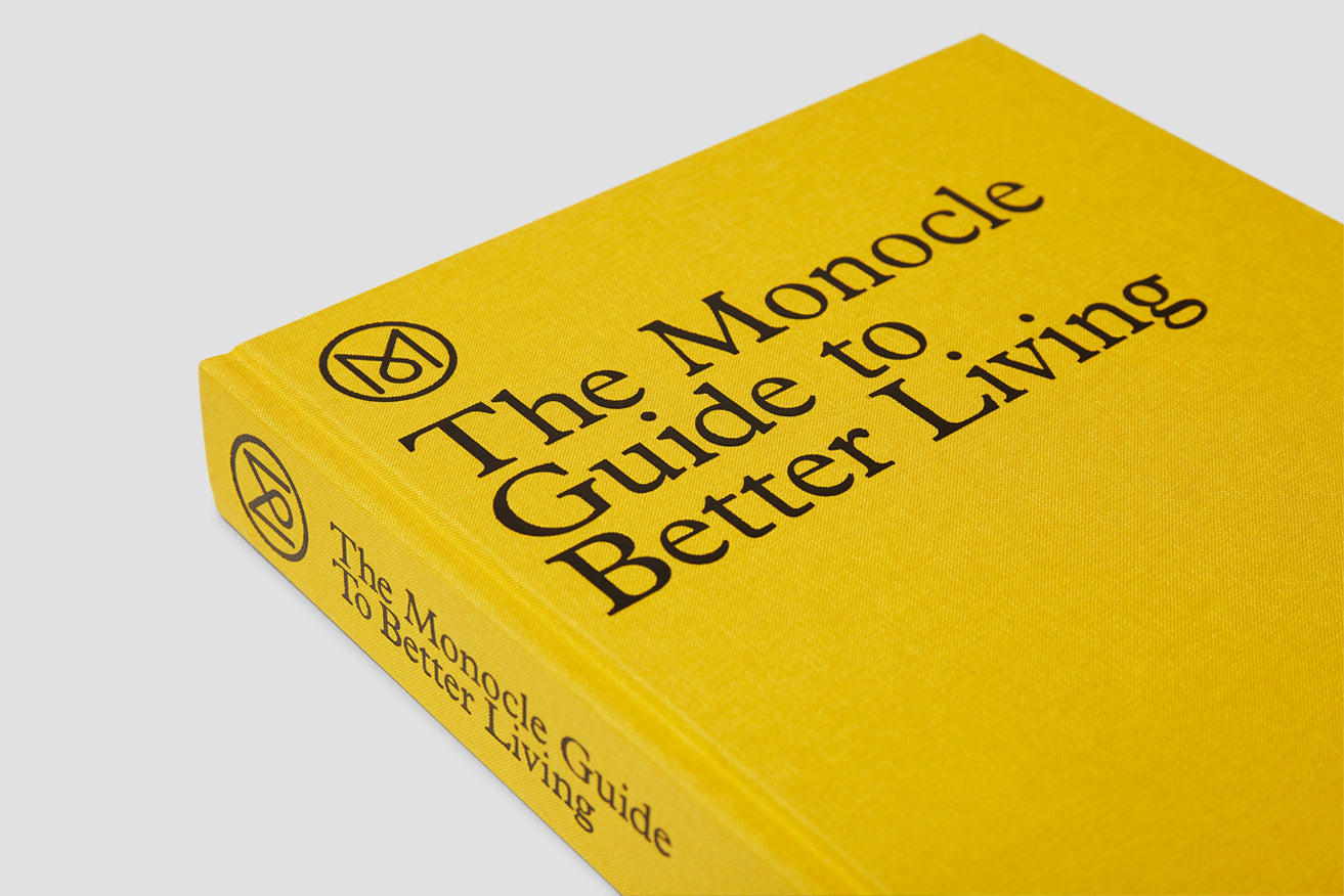 THE MONOCLE GUIDE TO BETTER LIVING 1033