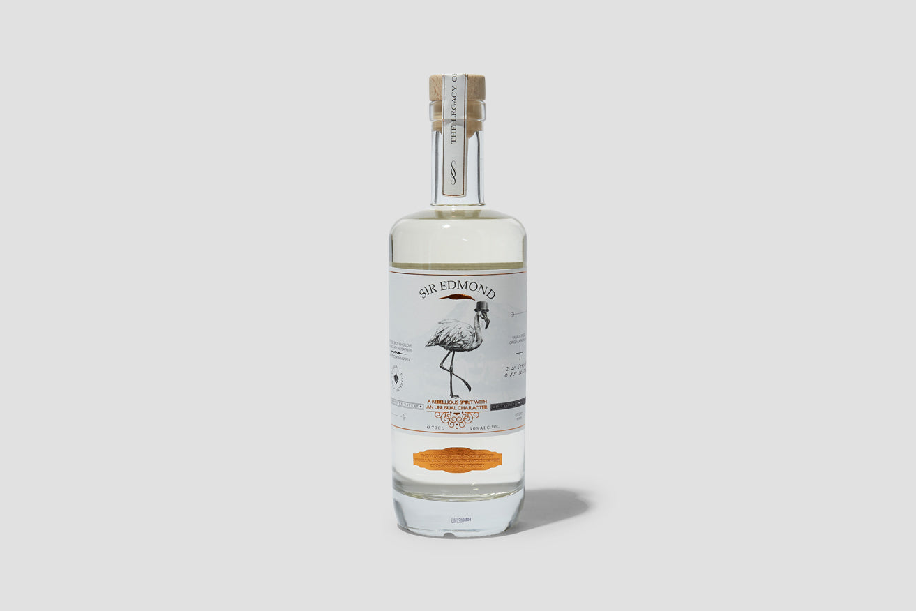 SIR EDMOND GIN 40% 700 ML.