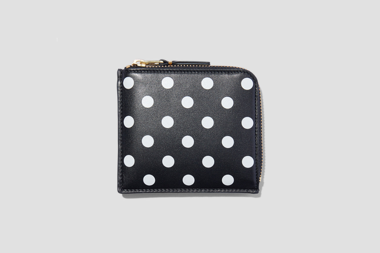 SA3100PD POLKA DOTS PRINTED Black