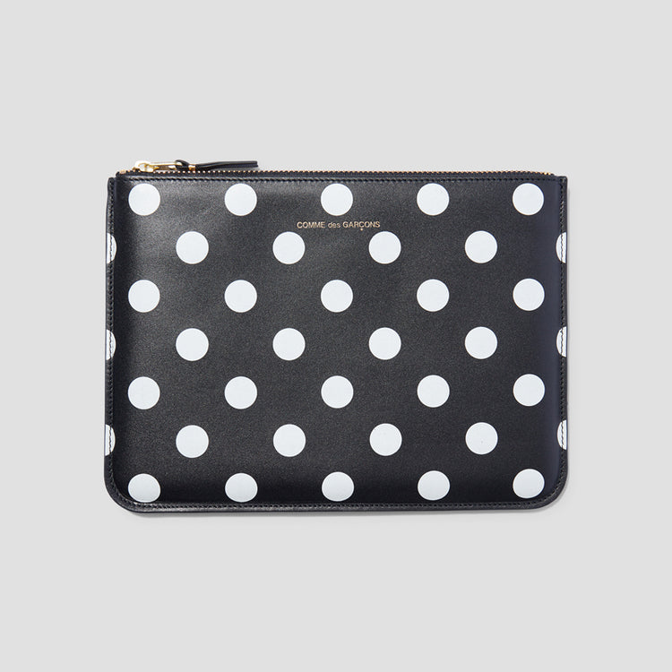 SA5100PD POLKA DOTS PRINTED Black