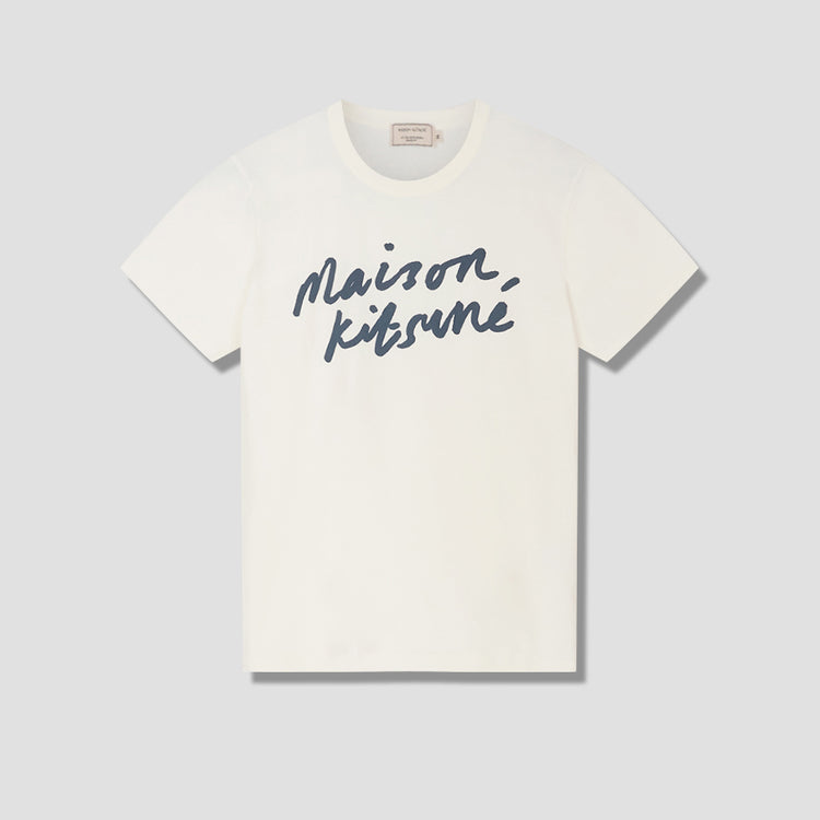 HANDWRITING CLASSIC TEE-SHIRT AM00104KJ0008 Off white