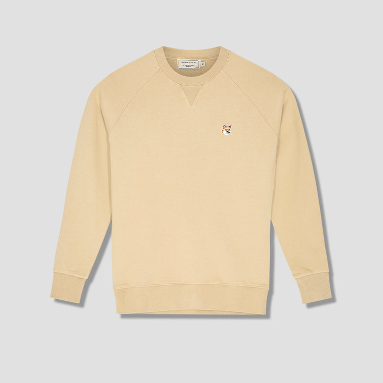 FOX HEAD PATCH CLASSIC SWEATSHIRT AM00303KM0001 Beige
