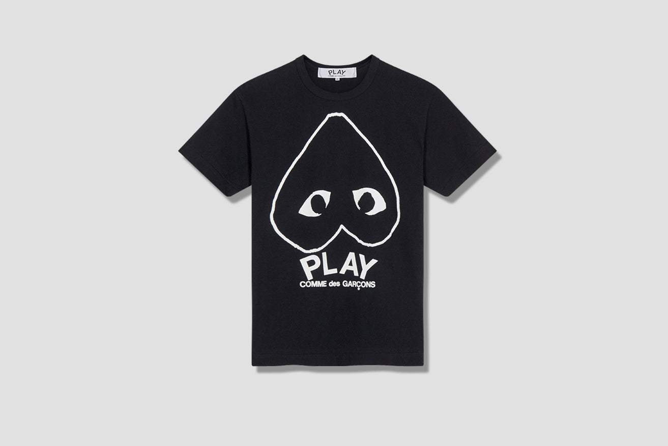 PLAY T-SHIRT PRINT P1T114 Black