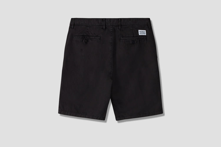 AROS LIGHT TWILL SHORTS N35-0237 Black