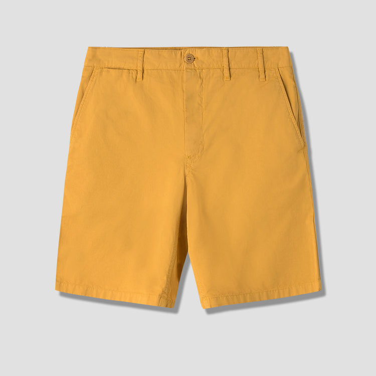 AROS LIGHT TWILL SHORTS N35-0237 Yellow
