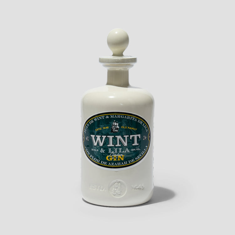 WINT & LILA LONDON DRY GIN 40% 700 ML.