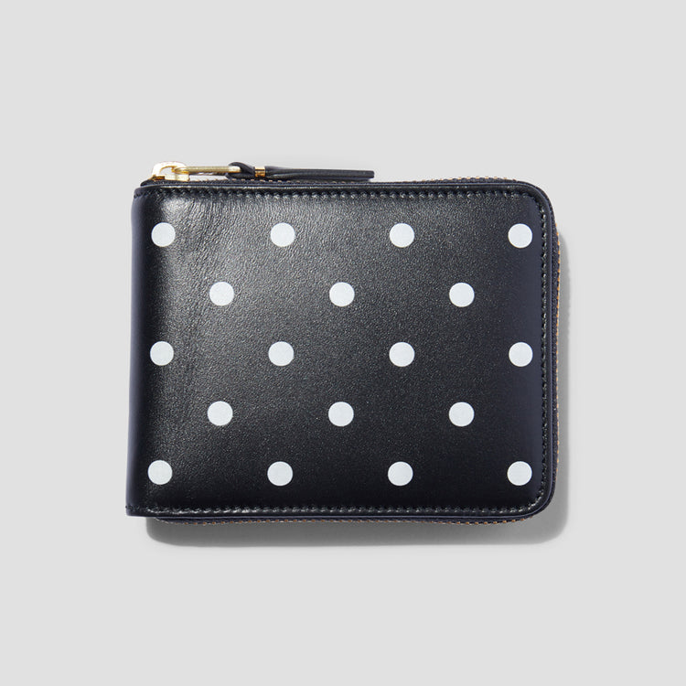 SA7100PD POLKA DOTS PRINTED Black