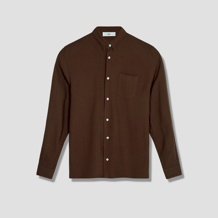 HAMPUS SHIRT Brown