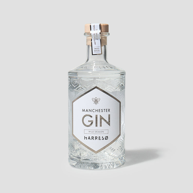 MANCHESTER GIN X HARRESØ WILD DRAGON 40% 500 ML.