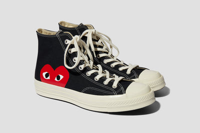 PLAY CONVERSE CHUCK TAYLOR ALL STAR '70 HI P1K112 Black