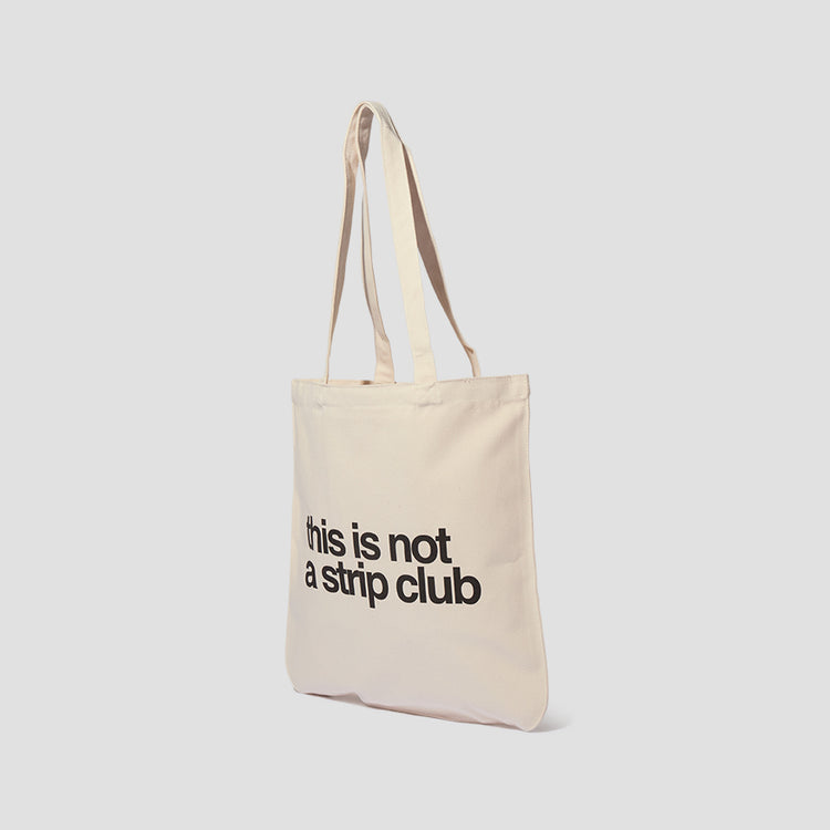 CALM. TOTE BAG 00009 Off white