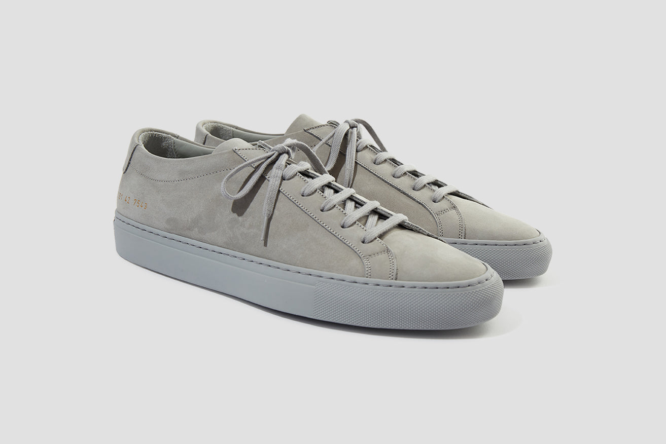 ORIGINAL ACHILLES LOW IN NUBUCK 2191 7543 Grey