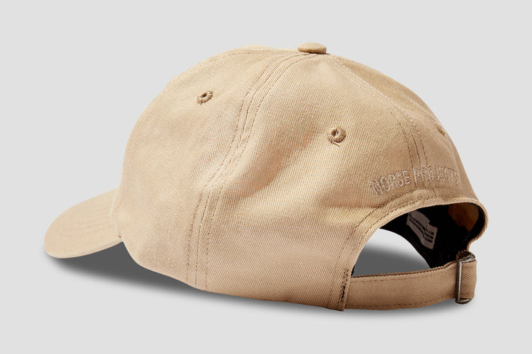 TWILL SPORTS CAP N80-0001 Khaki