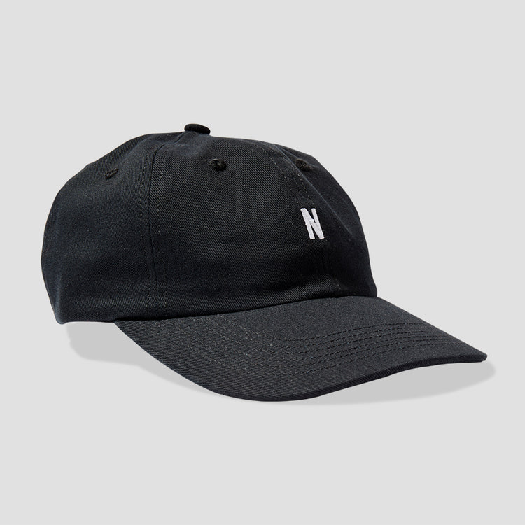 TWILL SPORTS CAP N80-0001 Black