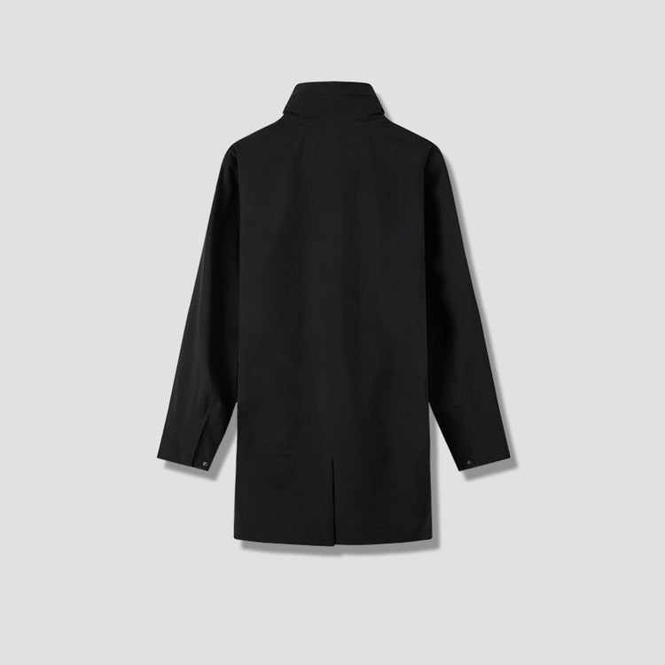 MEN MAC COAT 191140 Black