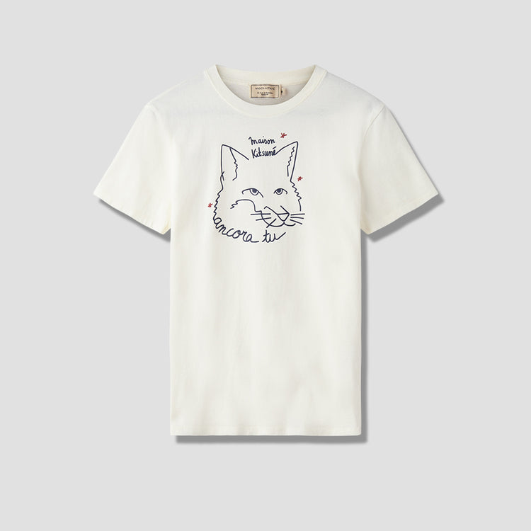 ANCORA TU TEE SHIRT CM00107KJ0005 Off white