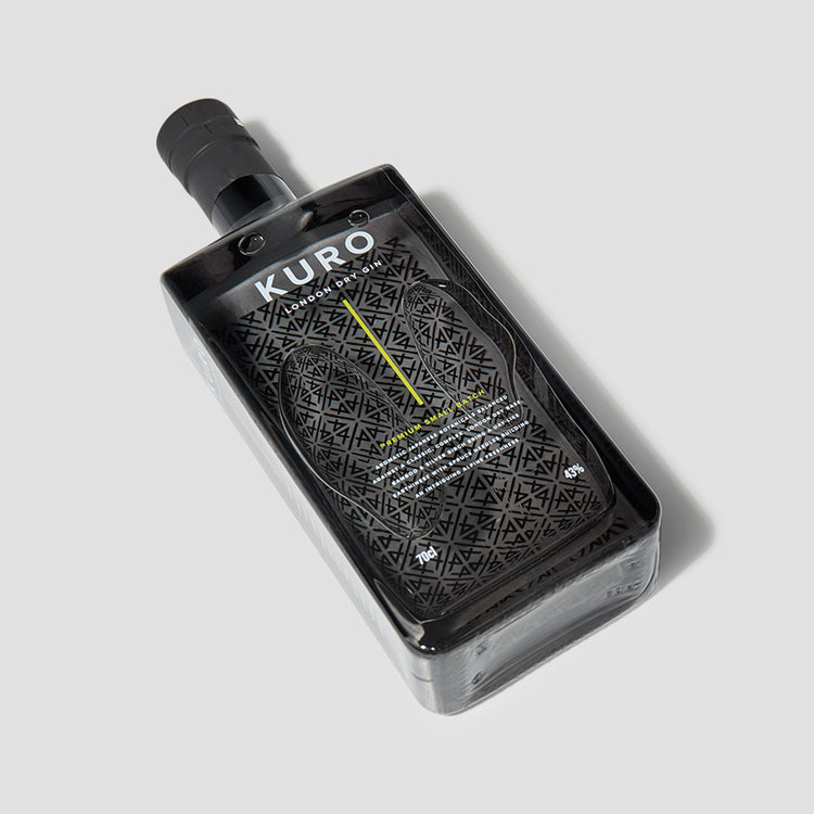 KURO LONDON DRY GIN 43% 700 ML.
