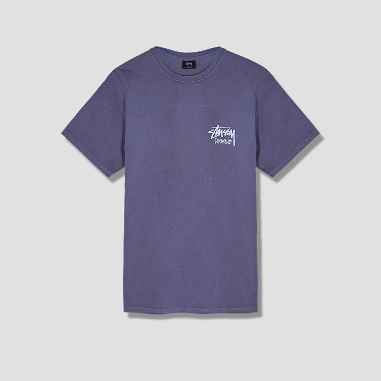 VENUS PIG. DYED TEE 1904402 Purple