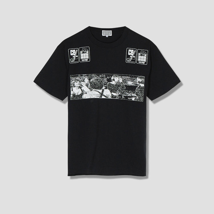 NOTE DOWN T-SHIRT CES15T05 Black