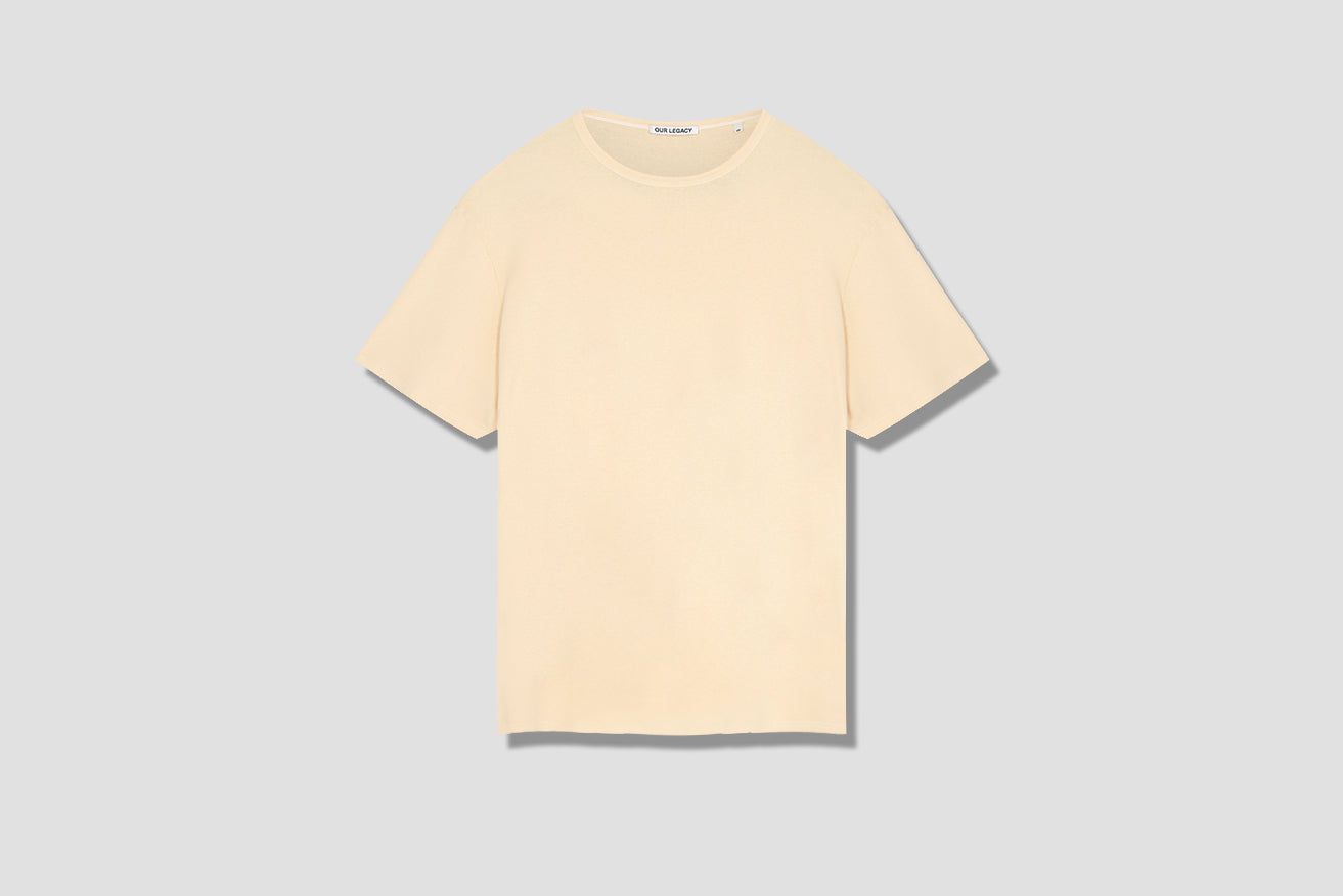 RIB T-SHIRT COFFEE M1936RC Yellow