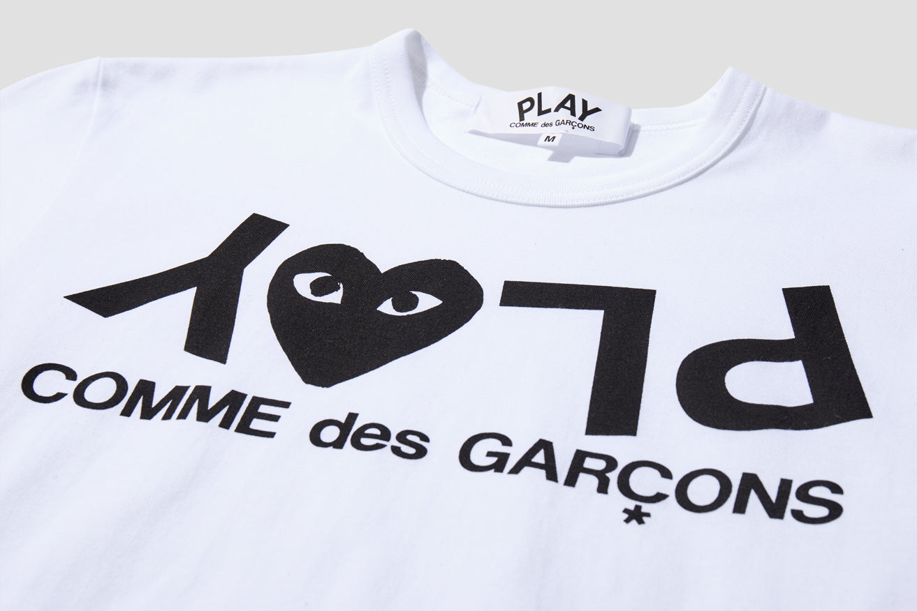 PLAY T-SHIRT PRINT P1T068 White